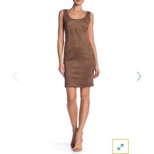 Philosophy faux suede dress